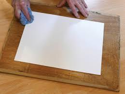 sponging watercolour paper