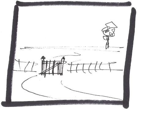 gate shut